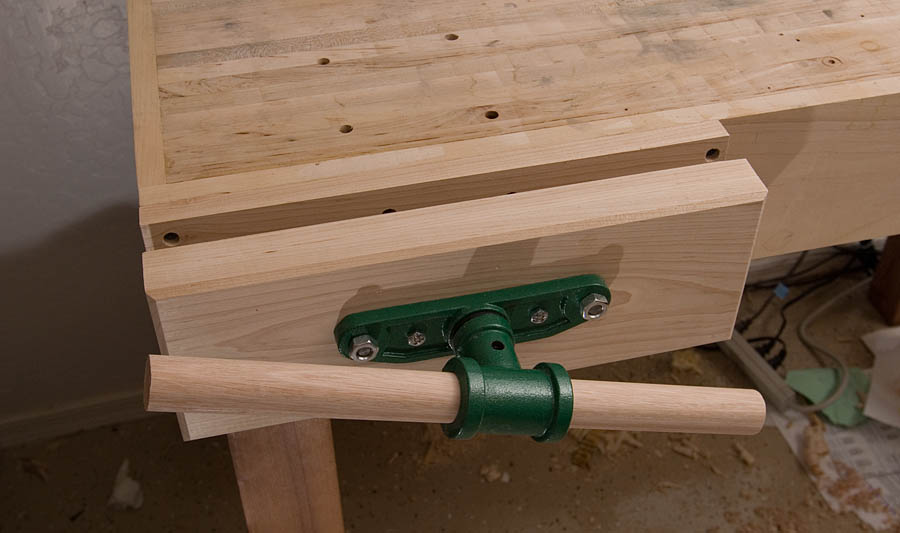 Can This Be Made Into A Standard Bench Vise The Pegbox